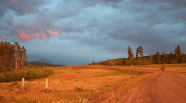 sunset and road 370 x 205